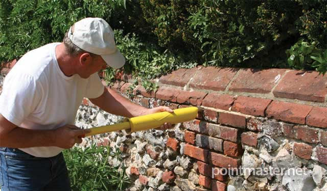 Designed for pointing brickwork quickly & accurately